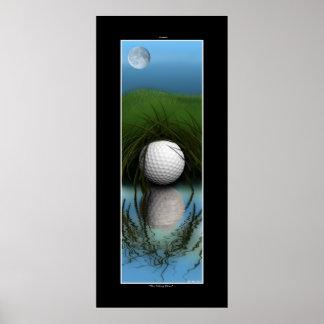 """""""El arte divertido del golf del escondite"""" - Póster"""