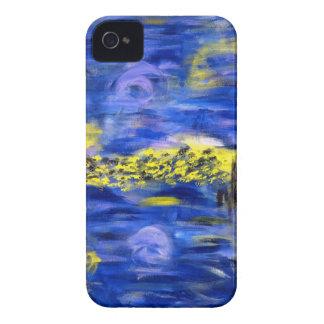 El arte el extracto y el kaliedscope de Digitaces iPhone 4 Carcasa