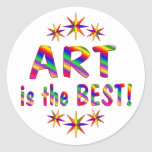 El arte es el mejor etiquetas