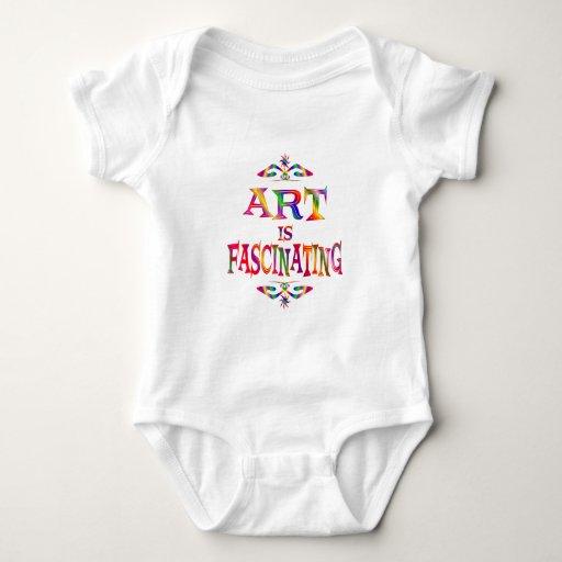El arte es fascinador t-shirt