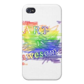 El arte es impresionante iPhone 4 protector