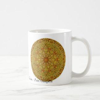El arte es plagio o revolución. - Gauguin Taza De Café