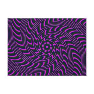El arte espiral estiró la impresión de la lona impresion en lona