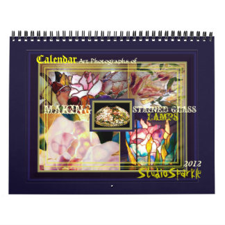 El arte fotografía el calendario 2012 de las lámpa