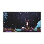 """El arte mágico del cielo de las estrellas """"que impresiones en lona estiradas"""
