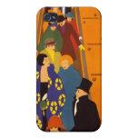 El arte más brillante del vintage de Londres iPhone 4 Cárcasas