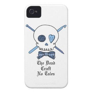 El arte muerto ningunos cuentos (azules) iPhone 4 protectores
