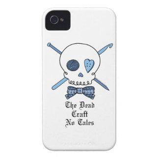 El arte muerto ningunos cuentos (azules) iPhone 4 carcasas