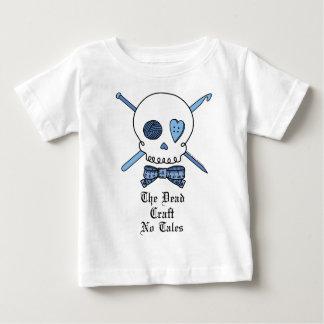 El arte muerto ningunos cuentos (azules) playera para bebé