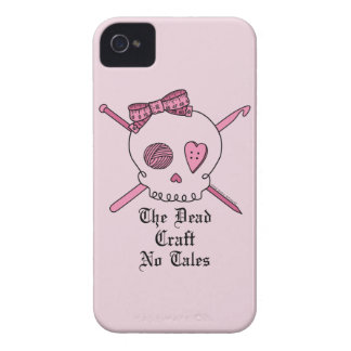 El arte muerto ningunos cuentos (fondo rosado) iPhone 4 funda