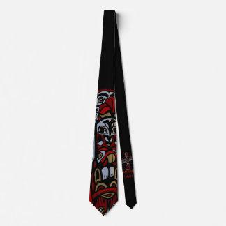 El arte nativo de Vancouver ata las corbatas del Corbatas Personalizadas