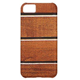 el arte natural de madera de la moda del estilo de funda para iPhone 5C