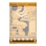 El arte Nouveau, amor del vintage conquista a todo Papeleria