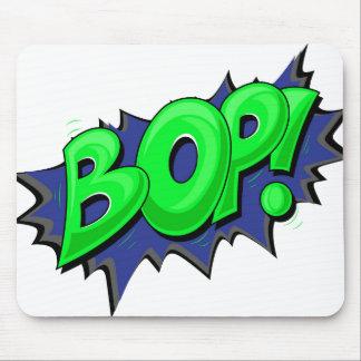 ¡El arte pop cómico Bop! Alfombrilla De Ratones
