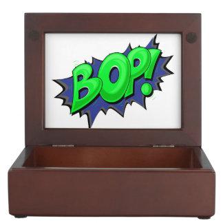 ¡El arte pop cómico Bop! Caja De Recuerdos