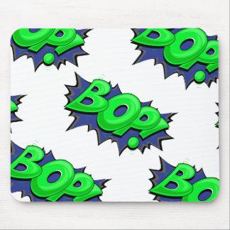 ¡El arte pop cómico Bop! Mousepads