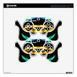 El arte pop de neón diseña 2 CricketDiane Mando PS3 Skin