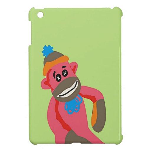 El arte pop del mono del calcetín añade el texto c