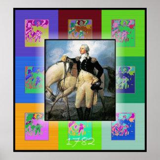 El arte pop George Washington Impresiones