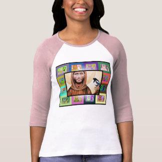 El arte pop St Francis de Assisi Camisetas