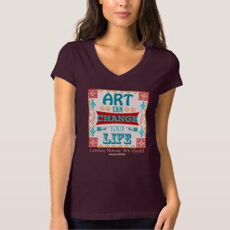 El arte puede cambiar su shirt* del *dark de la poleras