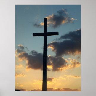 El arte subido de rey Pascua Sunset Christian Post Impresiones