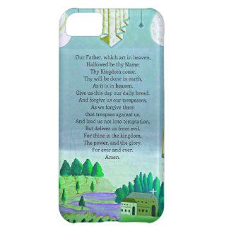 El arte temático de Prayer Christian del señor Funda Para iPhone 5C