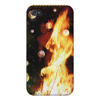 El arte visionario de la carta de tarot iPhone 4 funda