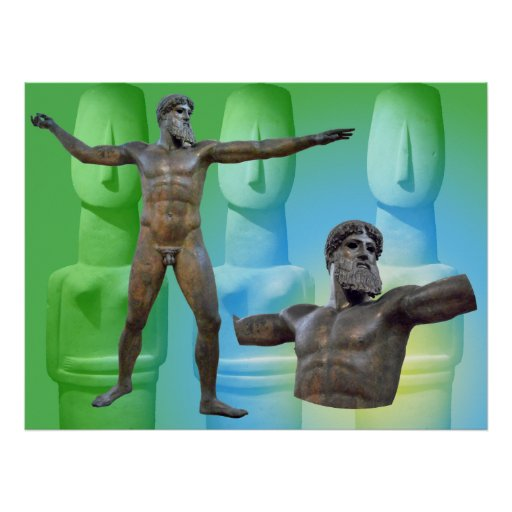 el Artemision Zeus o Poseidon_01 Póster