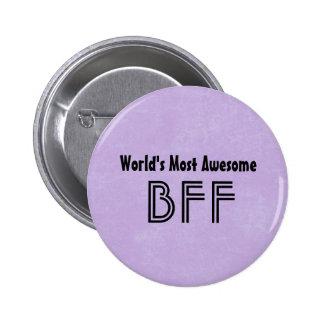 El artículo púrpura más impresionante BF01 del Pin Redondo De 2 Pulgadas