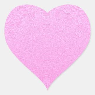 El artista 78 creó sombras del color en EN FORMA Pegatina En Forma De Corazón