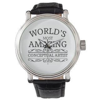 El artista conceptual más asombroso del mundo relojes de pulsera