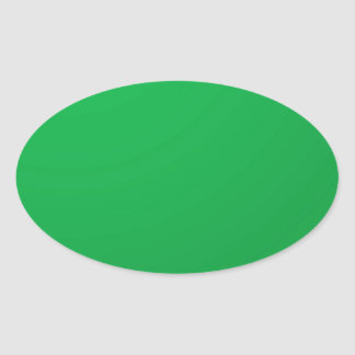 El artista creó la sombra verde: Añada el texto Pegatina Ovalada