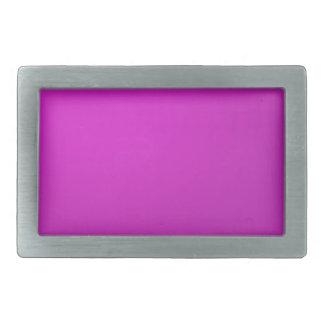 El artista creó púrpura del rosa del fondo de la hebillas de cinturón rectangulares