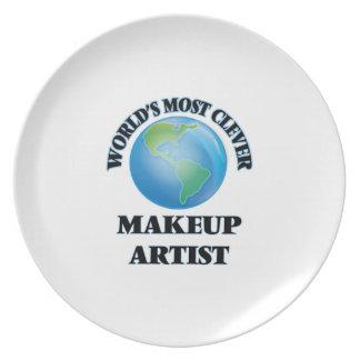 El artista del maquillaje más listo del mundo plato de cena