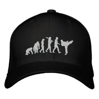 el artista marcial de los artes marciales de la co gorra de beisbol
