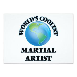 El artista marcial más fresco del mundo invitación 12,7 x 17,8 cm