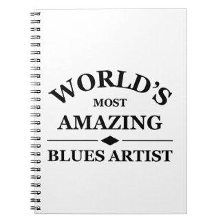El artista más asombroso de los azules del mundo cuadernos