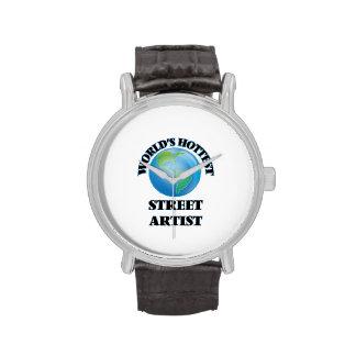 El artista más caliente de la calle del mundo relojes de pulsera