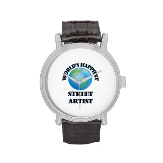 El artista más feliz de la calle del mundo relojes de pulsera