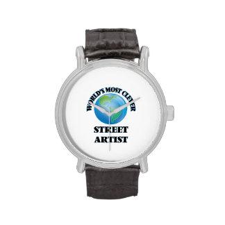 El artista más listo de la calle del mundo relojes de pulsera