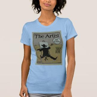 El artista w azul claro camisas