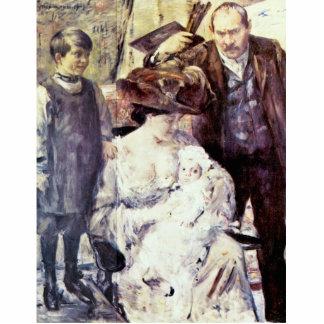El artista y su familia retrato de la familia po esculturas fotograficas
