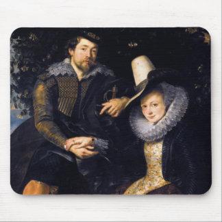 El artista y su primera esposa, Isabel Barnacla Alfombrilla De Ratones