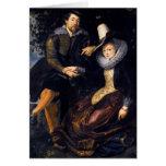 El artista y su primera esposa, Isabel Barnacla Felicitacion