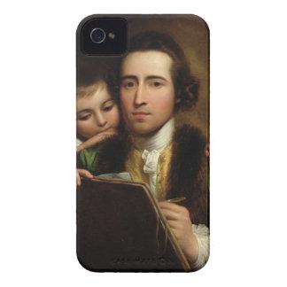 El artista y su Raphael del hijo, c.1773 (el iPhone 4 Coberturas