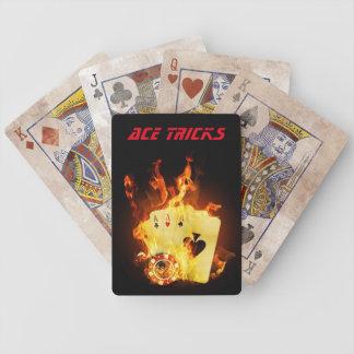 El as engaña tarjetas oficiales de YT Baraja