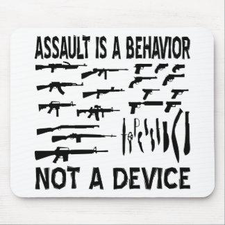 El asalto es un comportamiento un dispositivo no d alfombrillas de ratón