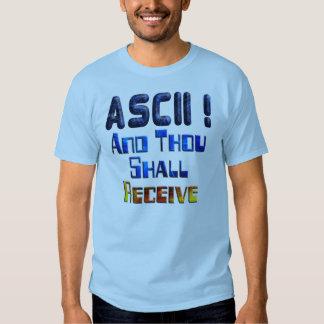 El ASCII y mil recibirán Camisas