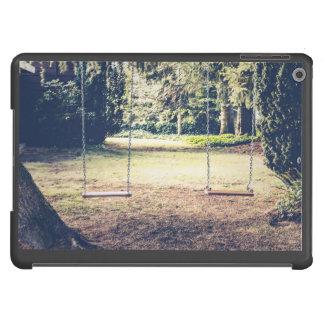 El asentar temático, jardín balancea para fechar carcasa para iPad air